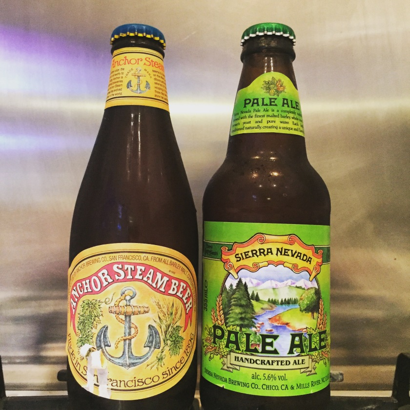 Anchor Steam Beer and Sierra Nevada Pale Ale