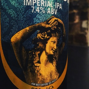 The statue 'Flora', who adorns the Thornbridge labels