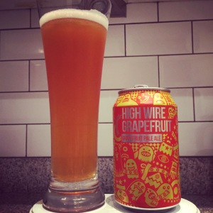 Grapefruit High Wire is, as the name suggests, a grapefruit explosion