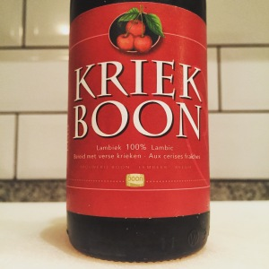 Kriek Boon - 100% lambic and with cherries