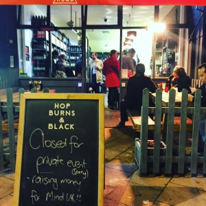Hop Burns & Black - one of London's premier bottle shops